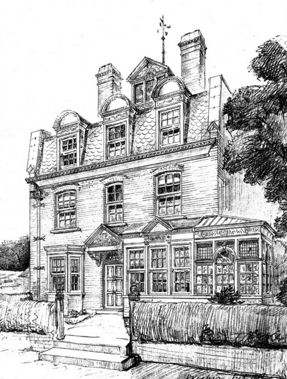 1883 &#8211; House at Minster, Thanet, Kent