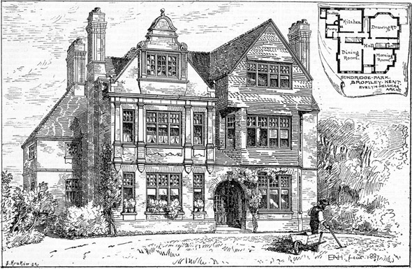 1887 &#8211; House in Sundridge Park, Bromley, Kent