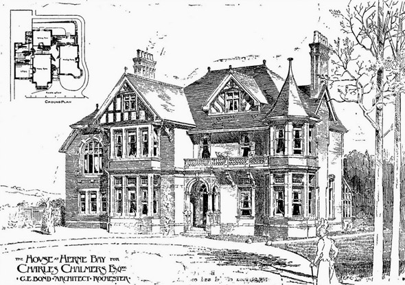 1899 &#8211; House at Herne Bay, Kent