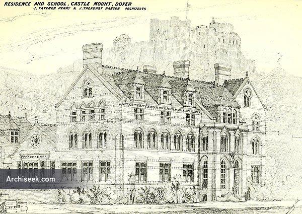 1874 – School & Residence, Dover, Kent
