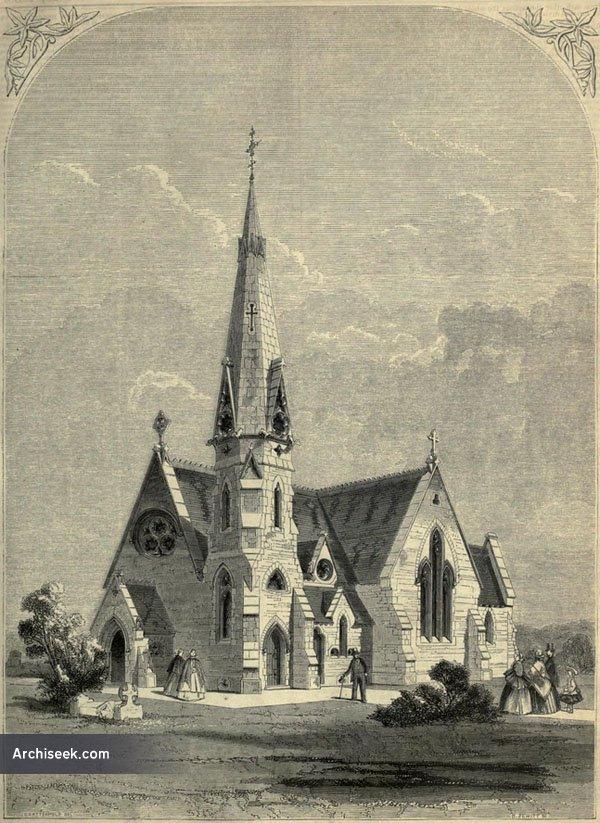 1860 – Cemetary Chapel, Ashford, Kent