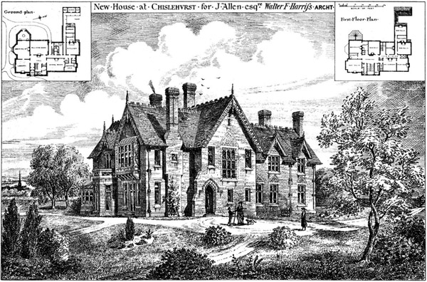 1876 &#8211; House, Chislehurst, Kent