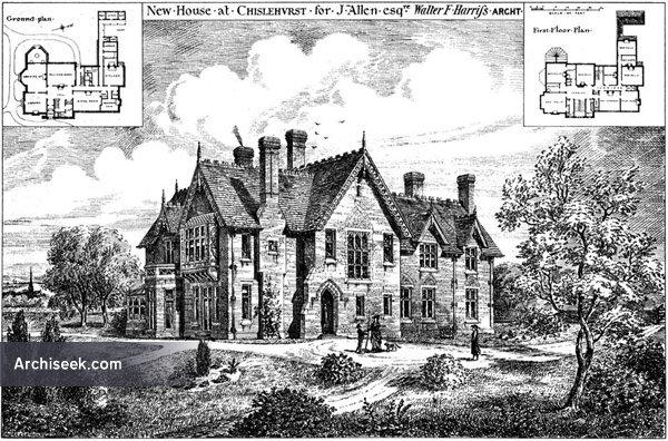 1876 – House, Chislehurst, Kent