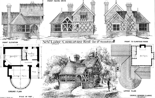 1877 &#8211; New Lodge, Chislehurst, Kent