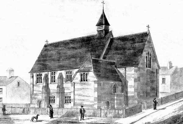 1887 &#8211; Mission Church, Chislehurst, Kent
