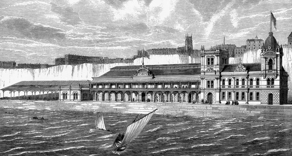 1877 – The Margate Skating Rink & Aquarium, Kent