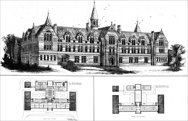 1871 – College for Congregational Ministers Daughters, Gravesend, Kent