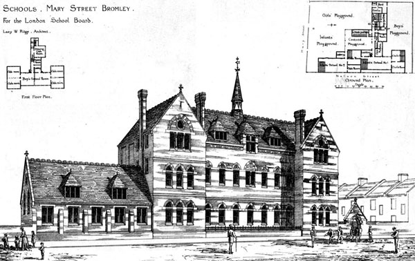 1873 &#8211; Schools, Mary St., Bromley, Kent