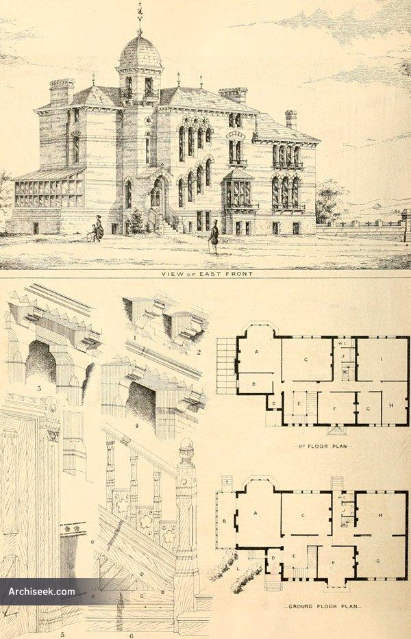 1868 – House at Sevenoaks, Kent