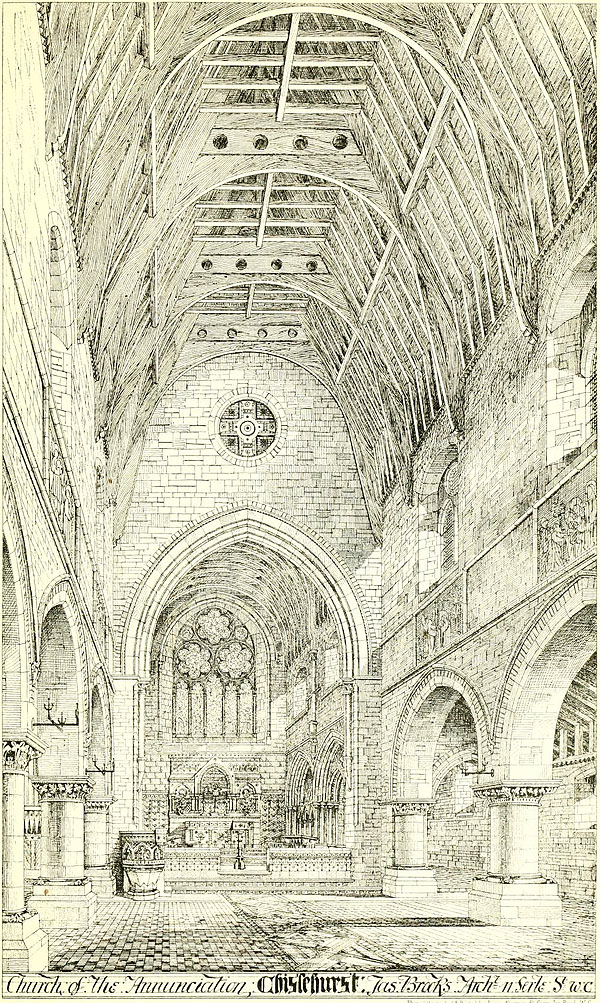 1871 – Church of the Annunciation, Chislehurst, Kent