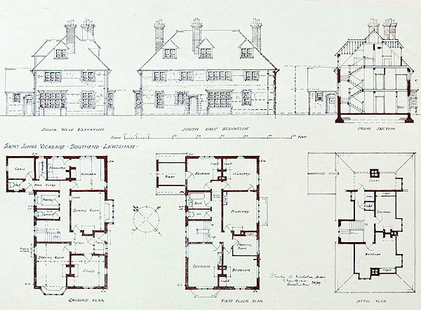 1919 – St. John's Vicarage, Southend, Lewisham, Kent