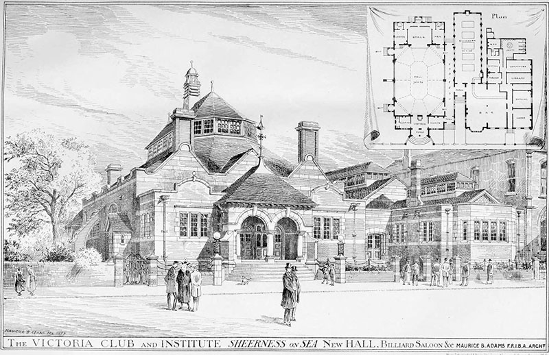 1899 – Victoria Club & Institute, Sheerness-on-Sea, Kent