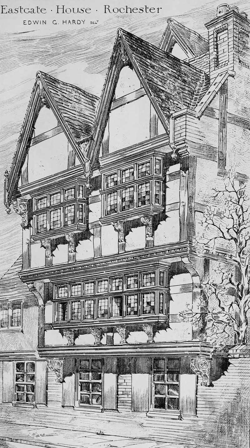 1590s – Eastgate House, Rochester, Kent