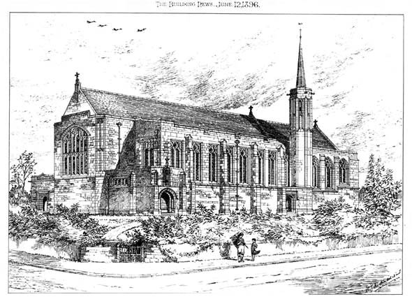 1896 &#8211; Church, St. Annes on Sea, Lancashire