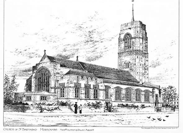 1896 &#8211; Church of St. Barnabas, Morecambe, Lancashire