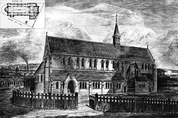 1878 &#8211; Church of St. Andrew, Wigan, Lancashire
