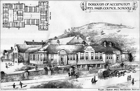 1906 &#8211; Peel Park Council Schools, Accrington, Lancashire