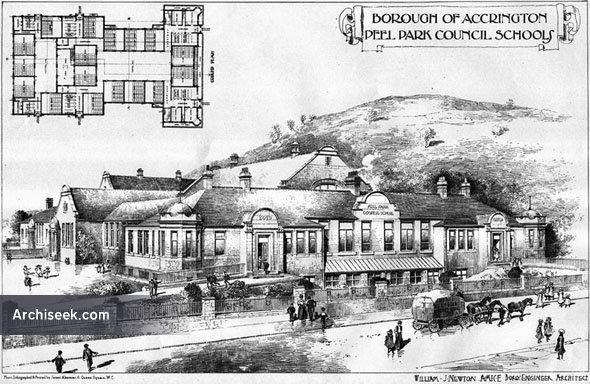 1906 – Peel Park Council Schools, Accrington, Lancashire