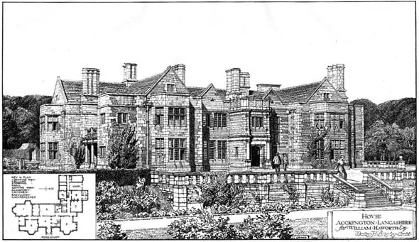 "1908 – ""Hollins Hill"", Accrington, Lancashire"