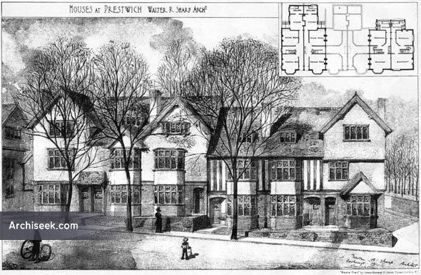 1905 – Houses at Prestwich, Lancashire
