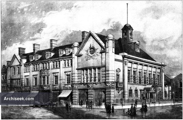 1906 – Leigh Town Hall, Lancashire