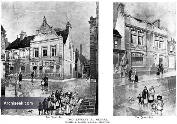 1901 – Two Taverns at Oldham, Lancashire