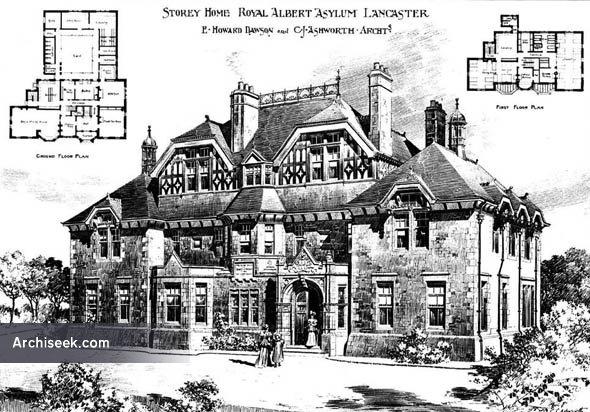 1899 – Storey House, Royal Albert Asylum, Lancaster, Lancashire