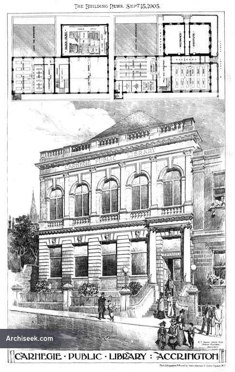 1905 – Carnegie Public Library, Accrington, Lancashire