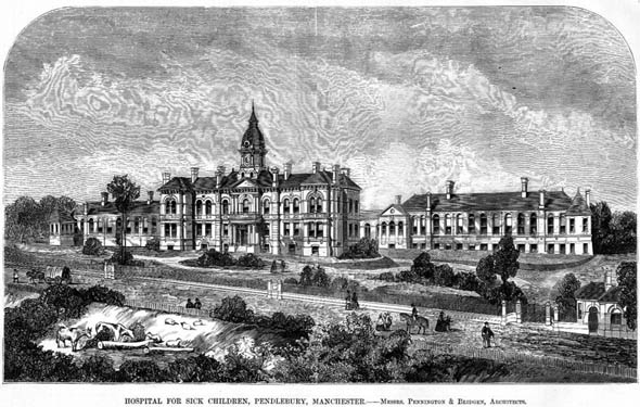 1872 &#8211; Childrens Hospital, Pendlebury, Lancashire