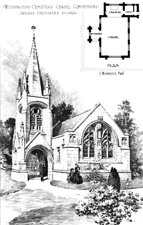 1906 &#8211; Withington Cemetery Chapel, Lancashire