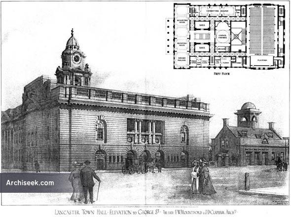 1908 – Lancaster Town Hall, Lancashire