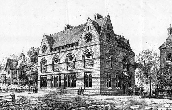 1873 &#8211; Free Library &#038; Museum, Blackburn, Lancashire