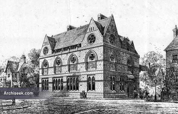 1873 – Free Library & Museum, Blackburn, Lancashire