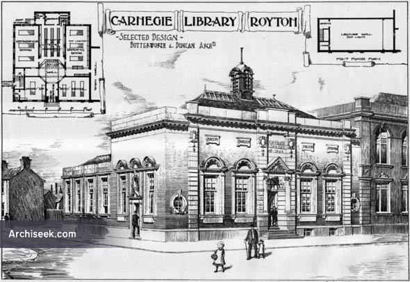 1906 – Carnegie Library, Royton, Lancashire