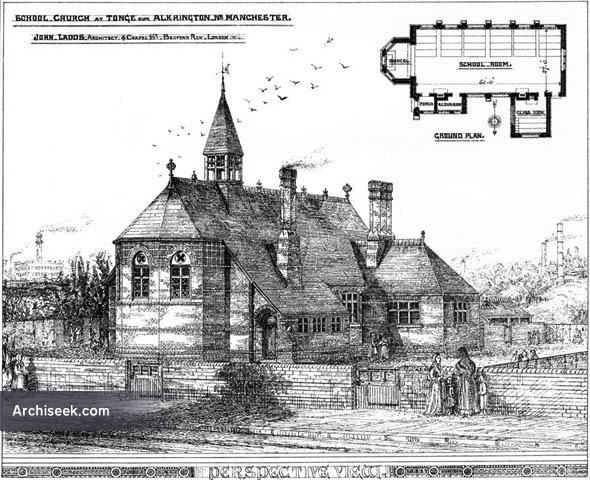 1875 – Church School at Tonge, Alkrington, Lancashire