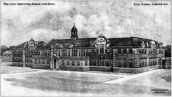 1910 – Preston Grammar School for Boys, Lancashire