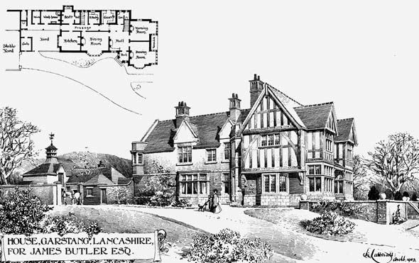 1903 &#8211; House at Garstang, Lancashire