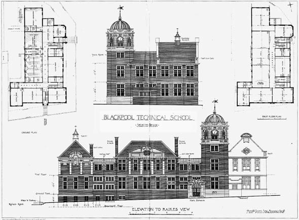 1903 – Technical School, Blackpool, Lancashire