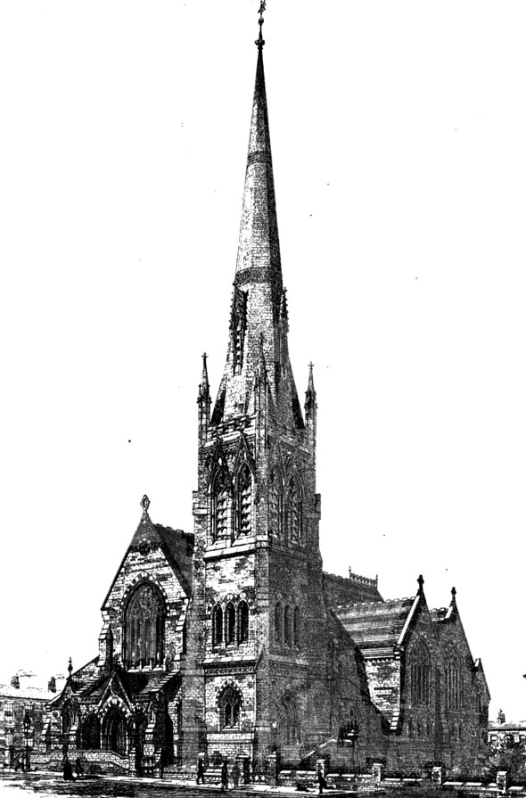 1875 &#8211; Congregational Church, Blackburn, Lancashire