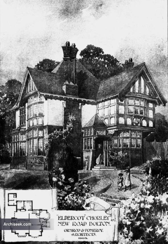 1906 – 'Eldercot', Chorley New Road, Bolton, Lancashire