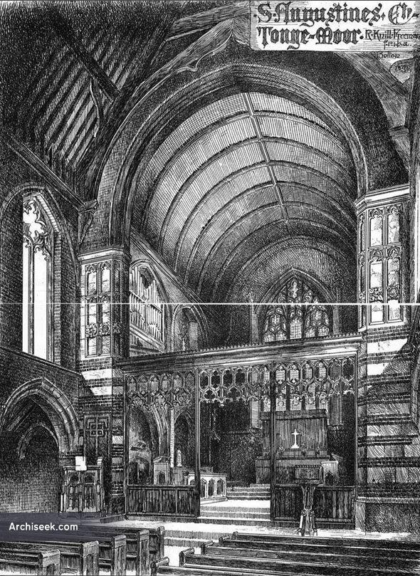 1891 – St. Augustines Church, Tonge Moor, Bolton, Lancashire
