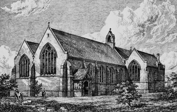 1886 – All Saints Church, Heaton Norris, Lancashire