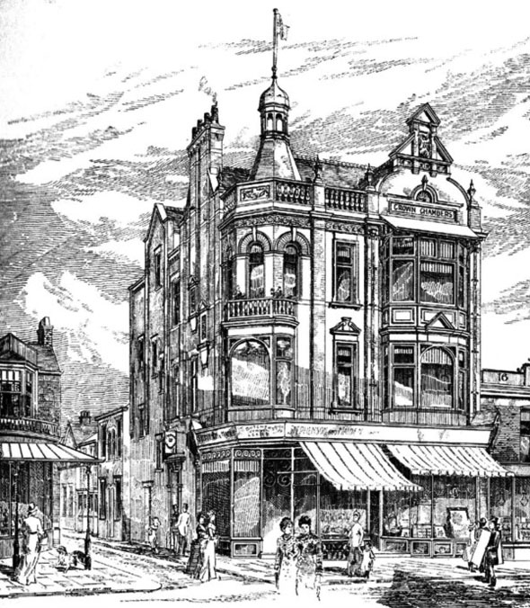 1888 &#8211; Business Premises, Southport, Lancashire