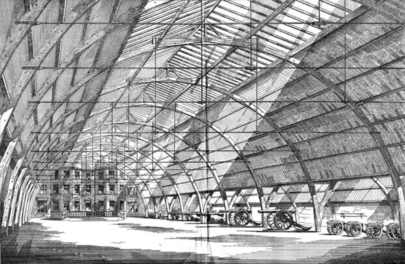 1886 – New Drill Hall, Bolton, Lancashire