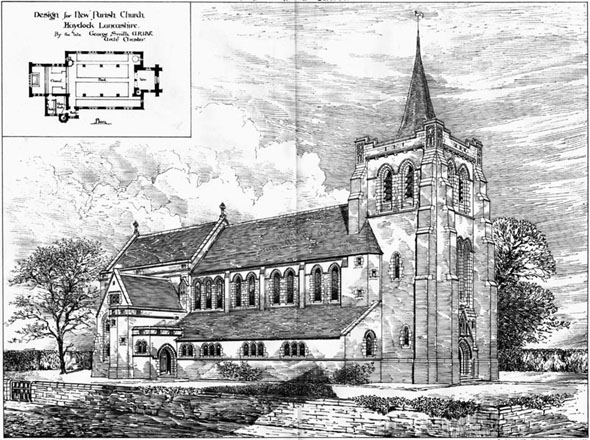 1887 &#8211; New Church at Haydock, Lancashire