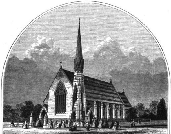 1862 &#8211; Congregational Chapel, Lytham, Lancashire