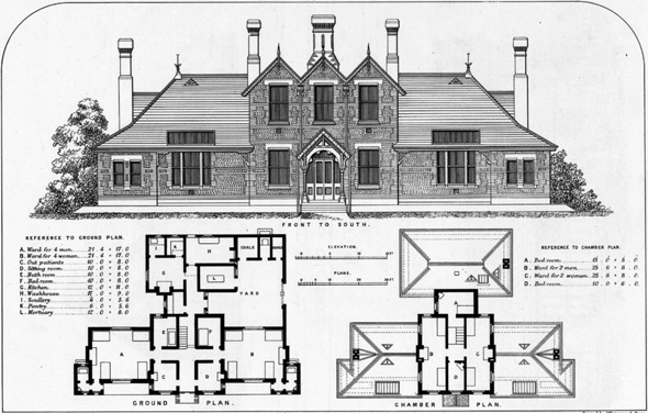 1870 &#8211; Cottage Hospital, Lytham, Lancashire