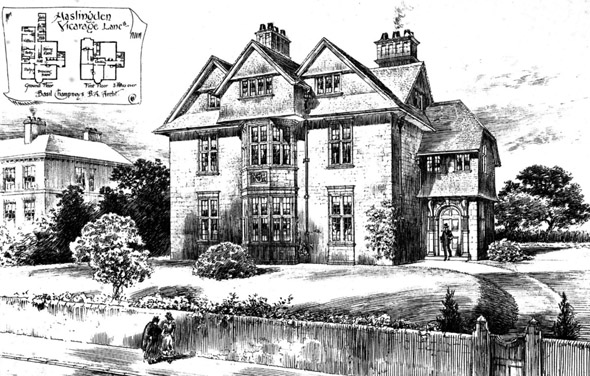 1894 &#8211; Vicarage, Haslingden, Lancashire