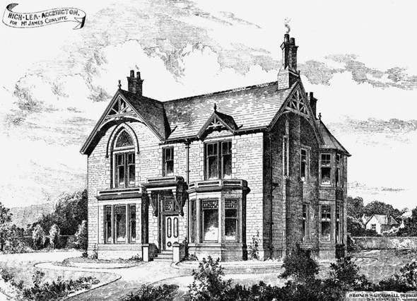 1888 – High Lea, Accrington, Lancashire