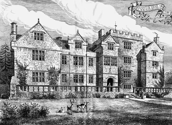 1590 &#8211; Borwick Hall, Borwick, Lancashire